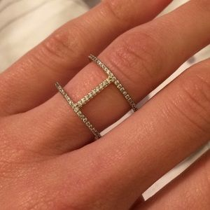 Sophie Harper Jewelry - Sophie Harper Pave Double Bar Ring